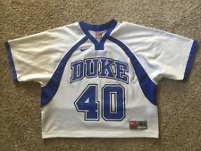 746b69f94 Duke Blue Devils Team Nike Lacrosse Football Jersey   40 Mens Size Medium