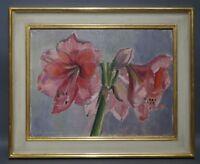 Ruth Dolmetsch (1918-2000 Stuttgart) - Stillleben mit Amaryllisblüten (D82)