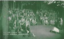 Victory Circle, Mount Hermon, CA Campfire Christian Camp c1940s Vintage Postcard