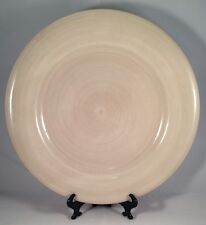 Tabletops Gallery Avellino Cream Dinner Plate Stoneware 11 1/2 In Hand Painted
