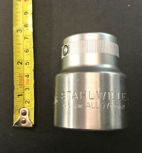 """Stahlwille  Hex Socket, 1/2"""" Drive, 36 mm (6 point)  Germany"""