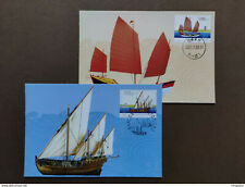 2001 CHINA Ancient Sailing Boats (Joint-Issued by China and Portugal) MC-48