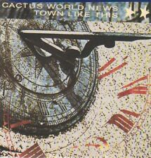 Cactus World News 'Town Like This' CD single in slipcase, 1989 on MCA (RARE)