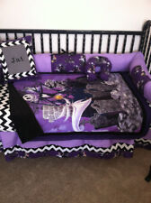 5 piece Nightmare before Christmas Crib bedding - free personalized pillow