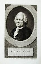 c1800 Target Guy-Jean-Baptiste Jurist Kupferstich-Porträt Claessens