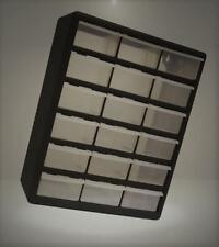 Homak Ha01018001 18-Drawer Parts Organizer, Black