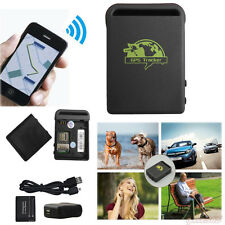 TK102A Mini SPY Car GSM GPRS GPS Tracker Vehicle Car Tracking Locator w/ Charger