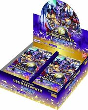 Bandai Digimon Card Game Booster ULTIMATE POWER BT-02 BOX