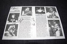 THE GRANDMOTHERS signed Autogramme auf 20x30 cm Blatt InPerson FRANK ZAPPA