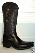 Western-Stiefel Boots  Leder  J.Sanchez/handmade in Spain  schwarz  Gr. 40 + 44