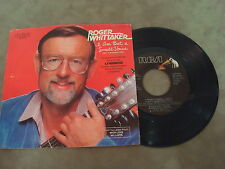 """ROGER WHITTAKER- I AM BUT A SMALL VOICE/ A MAN WITHOUT LOVE   7"""" SINGLE"""