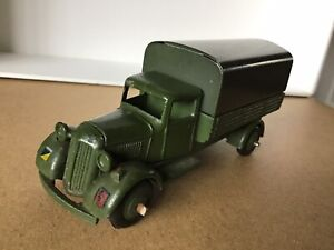 Dinky Toys - 25b Army Covered Wagon - Rare military south African issue 1948