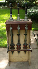 Vintage / Antique 1935 Gaskell & Chambers Dalex Quadamant 3 Tap Beer Engine