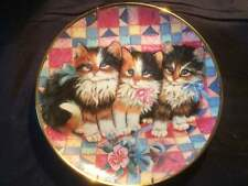 Collectable Cat Plates -  Franklin Mint 6 Limited Edition by K. Duncan