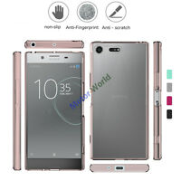 For Sony Xperia XZ Premium Shockproof Armor Hybrid Clear Back Case Bumper Cover