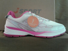 "J-Sport By Jambu Size 6.5 ""Sport Walker"" Lace-Up White/Pink Shoes. New in box."