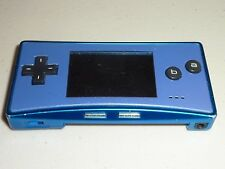 nintendo game boy micro console blue and pearl advance 11415