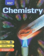 Modern Chemistry: Holt Chemistry by Myers (2006, Hardcover, Student Edition...