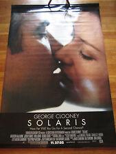 "2002 SOLARIS Vinyl Banner Movie Poster 48 x 72"" George Clooney 4x6 Feet RARE"
