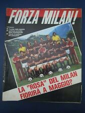 "RIVISTA "" FORZA MILAN "" MENSILE N.9 SETT 1978 - LIEDHOLM / RIVERA"