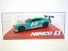 NINCO #55099 slot car CHEVY CAMARO G-OIL 69 1:32 Comes with display case