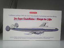Top: wiking Lockheed l1049g super constellation de la Lufthansa 1:200 dans son emballage d'origine
