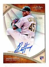 JHAREL COTTON MLB 2017 TOPPS TIER ONE BREAK OUT AUTOGRAPHS #/300 (ATHLETICS)
