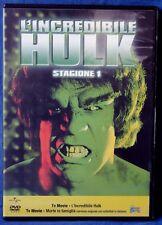 L'INCREDIBILE HULK - STAGIONE 1 - TV MOVIE - DVD N.02651