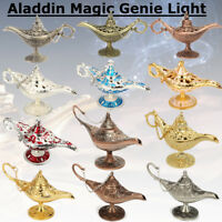 Collectable Aladdin Magic Light Wishing Legend Lamp Wish Pot Decor