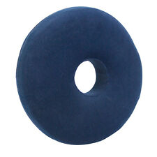 MEMORY FOAM ROUND CUSHION & COVER COMFY PILLOW SPONGE RING DONUT PILES PREGNANCY