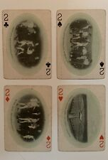1909 James J. Jeffries Lot of 4 Playing Boxing Cards Ex+