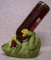 Wine Bottle Holder and/or Decorative Sculpture Frog NEW