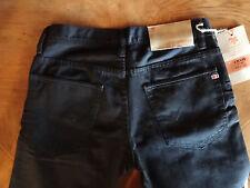 NWT MEK Chase Straight Black Denim Jeans Size 31Wx34L Rock Revival