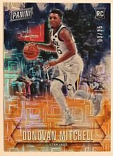 2018 Panini Father's Day Donovan Mitchell RC #'d 3/25 Escher Squares Refractor