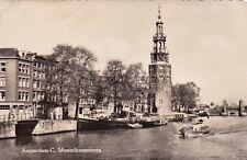 NETHERLANDS - Amsterdam - C. Montelbaanstoren - Echte Foto 1958