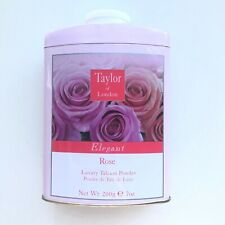 Rose by Taylor of London 7.0 oz Luxury Talcum Powder Brand New