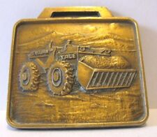 Trojan Division Yale & Towne Mfg Wheel Loader Pocket Watch Fob Bleiler Equipment