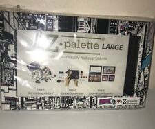 Z PALETTE Large Empty Customizable Magnetic Makeup Case Ricky's NYC Black~ NEW