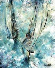 Grand tableau, peinture/huile/toile, signé Gastaldi, artiste du XX ème sièce.