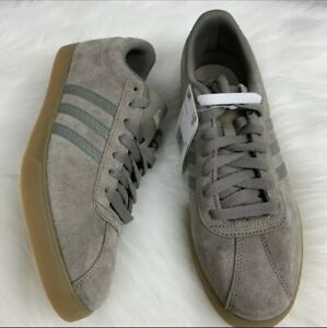 Adidas Courtset W Tennis Gray Womens 9 Sneakers New