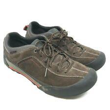 Clarks Outdoor Men's Sneakers Shoes Brown Walking Low Top Leather 9 M   [S8]