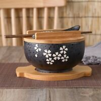 Japanese Bowl Instant Noodles Tableware Dining Room Tableware Salad Ceramic O7U8