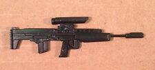 Ambush  v1~ Black Rifle Gun Gi Joe Parts~ Vintage 1990  Hasbro~