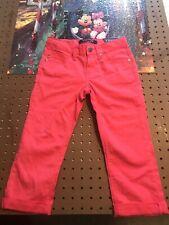 Vigoss Girls Hot Pink Capri Pants Size 8 New