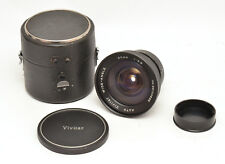 Auto Vivitar Wide-Angle 20mm F3.8 Lens For Konica AR Mount! Good Condition!