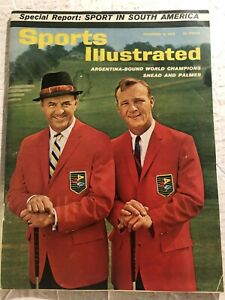 1962 Sports Illustrated THE MASTERS Arnold PALMER Sam SNEAD No Label ARGENTINA