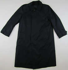 Burberrys vintage 90s coat navy blue designer detachable liner mens 50 Reg