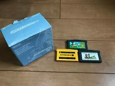 GameBoy Advance SP console Perl Blue Color with BOX and Manual