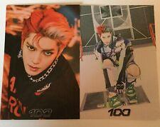 Taeyong SuperM 100 Postcard Set