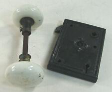 Antique Porcelain Knob Handle Mortise Door Lock